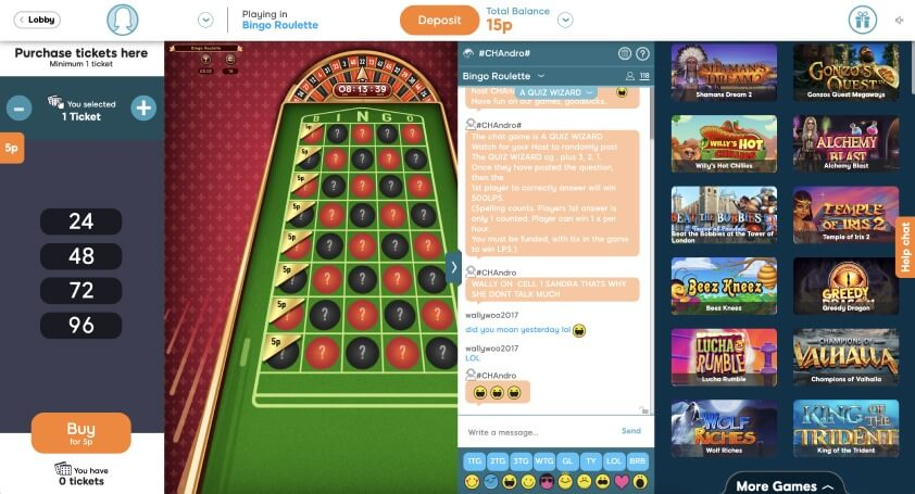 52 Ball Bingo Game Time- Bid Bingo UK