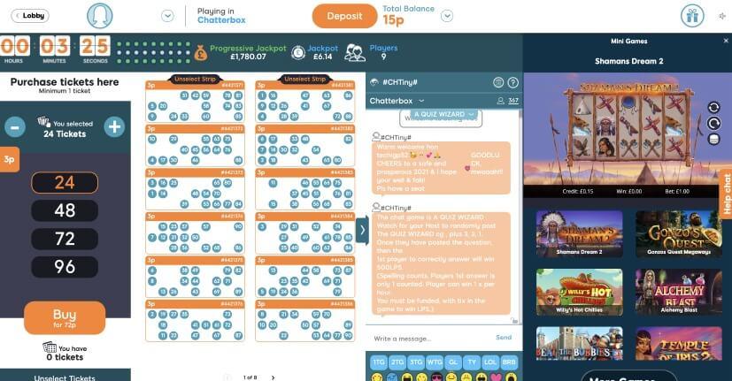 90 Ball Bingo Game Help - Bid Bingo